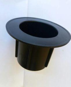 Пробка-заглушка d 76 мм с широким буртиком